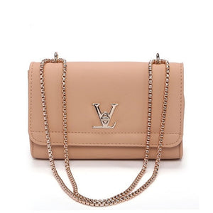 2018 New Fashion leather bag chain Shoulder Bags  Famous Brand