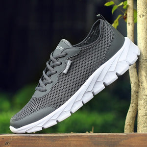 2018 Plus Size 35-48 Men Casual Shoes Breathable Ultralight Comfprtable Outdoor Walking Footwear Krasovki Trainers high quality