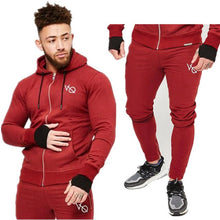 Load image into Gallery viewer, 2018 VQ fitness brand sportswear suit of autumn
