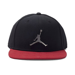 Amazon.com: NIKE Mens Jordan Retro 13 Snapback Hat (Adjustable, Black/Red): Sports & Outdoors