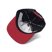 Load image into Gallery viewer, Amazon.com: NIKE Mens Jordan Retro 13 Snapback Hat (Adjustable, Black/Red): Sports & Outdoors