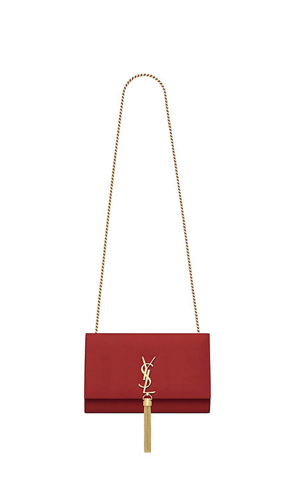 Paper Yves Saint Laurent monogram kate with tassel kate medium with tassel in smooth leather women Shoulder Bag Classic New
