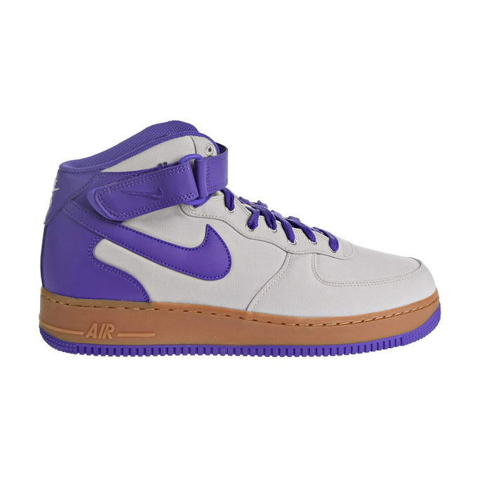 Nike Air Force 1 Mid '07 TXT Men's Shoes Light Bone/Dark Iris aj9514-003