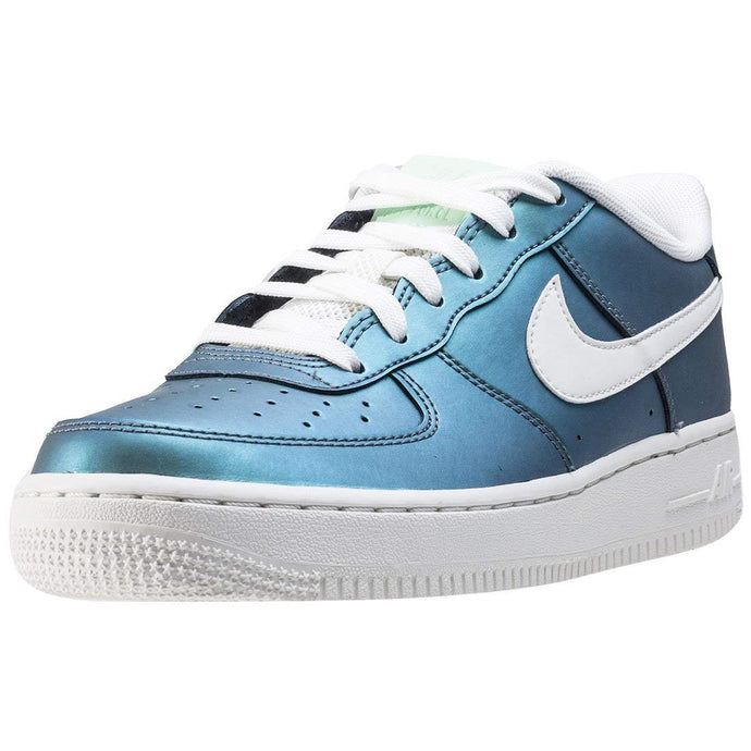 Nike Air Force 1 Lv8 (gs) Kids Trainers Green Metalic - 6 UK - 40 EU