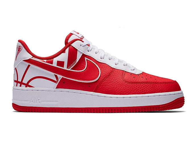NIKE Air Force 1 '07 LV8 University Red/University Red