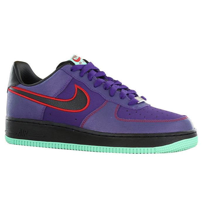 Nike Air Force 1 Low Court Purple/Black/University Red, Size 11.5