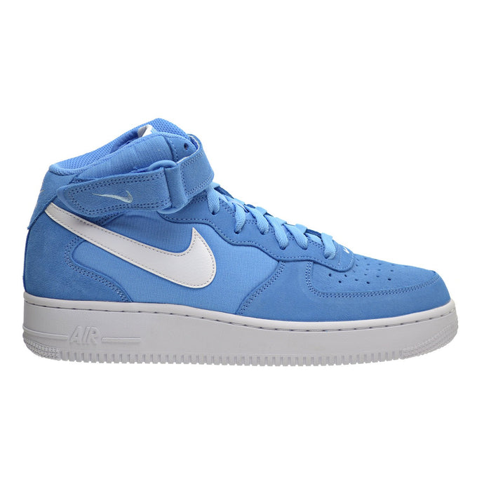 NIKE Air Force 1 MID '07 Men's Shoes University Blue/White/White 315123-409