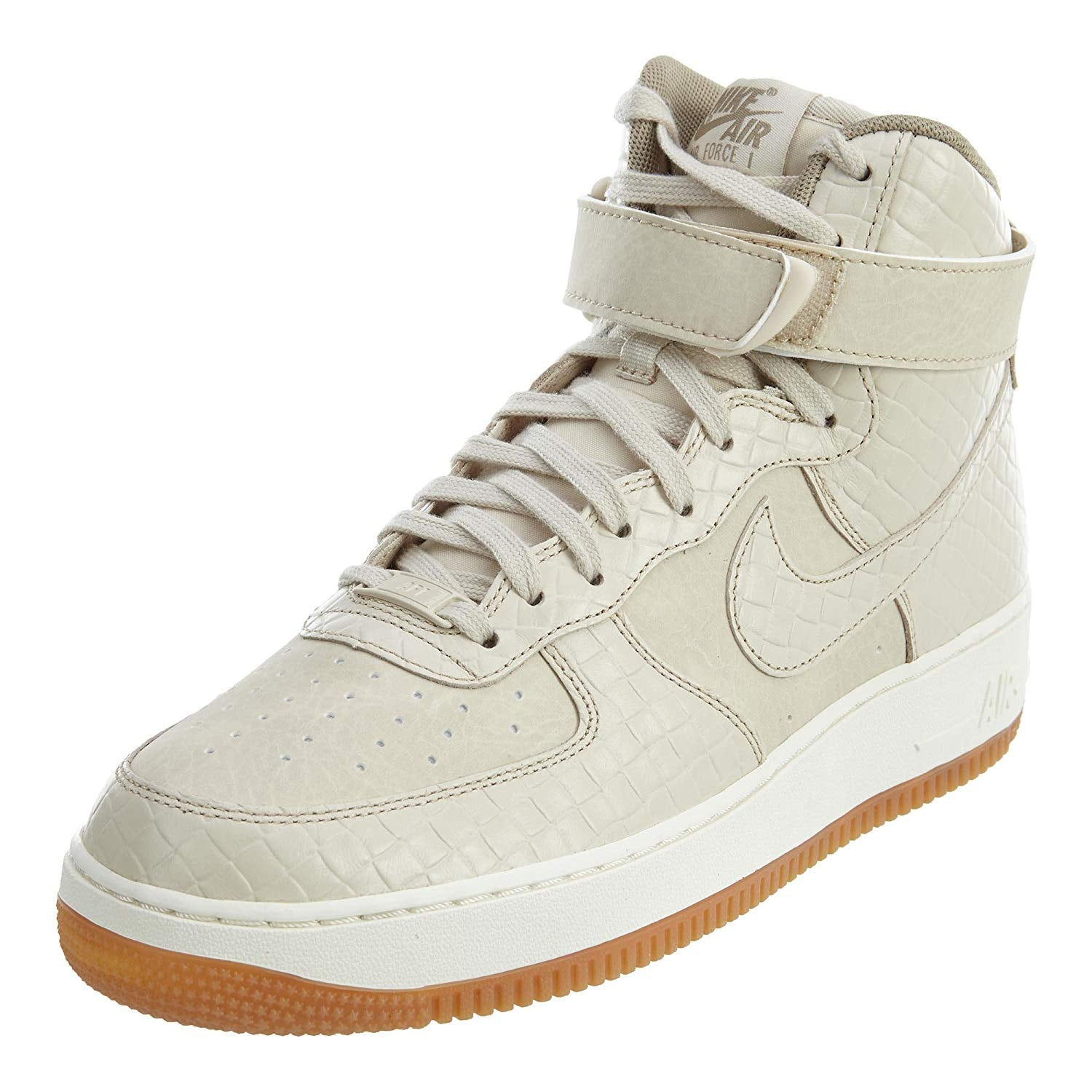 wholesale dealer 81d3b cbeb2 Load image into Gallery viewer, NIKE Air Force 1 Hi Premium Oatmeal Oatmeal-  ...