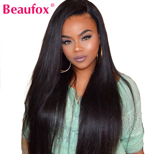 Beaufox Lace Front Human Hair Wigs