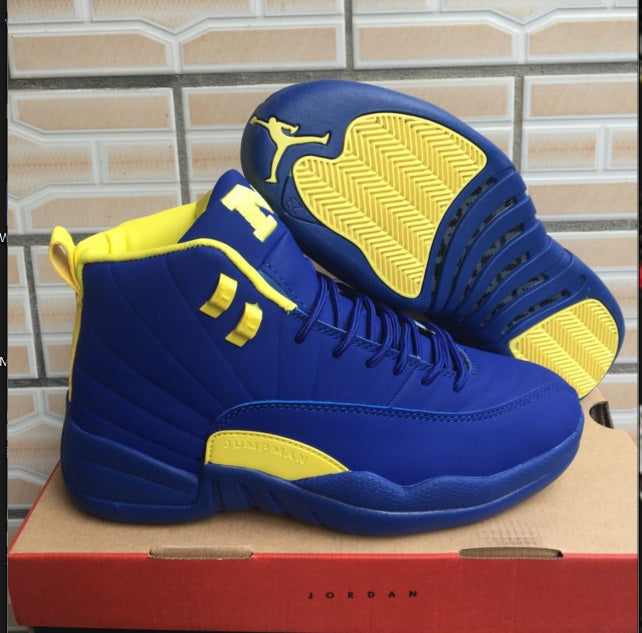 JORDAN 12  Basketball Shoes AJ12 Low help JORDAN Sneakers  Men Basketball Shoes Jordan 12 size:41-47