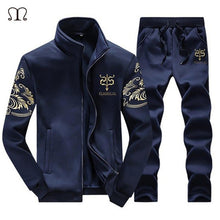 Load image into Gallery viewer, Men's Tracksuit Warm Sportwear  Set Men