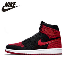 Load image into Gallery viewer, Nike Air Jordan 1 Flyknit AJ1 Original Men's  Basketball Sneakers