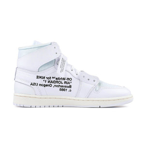 Nike Air Jordan 1 Off White X AJ1 Retro High Basketball Shoes