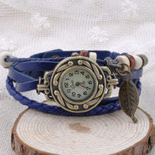 Load image into Gallery viewer, Leaf Vintage Wrap Watch