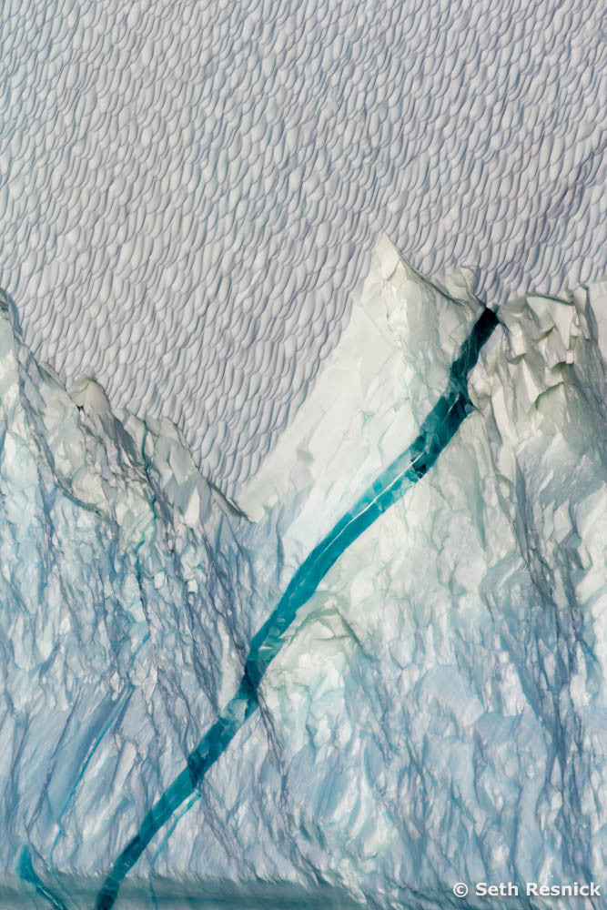 The Linear Scar, Scoresbysund, Greenland