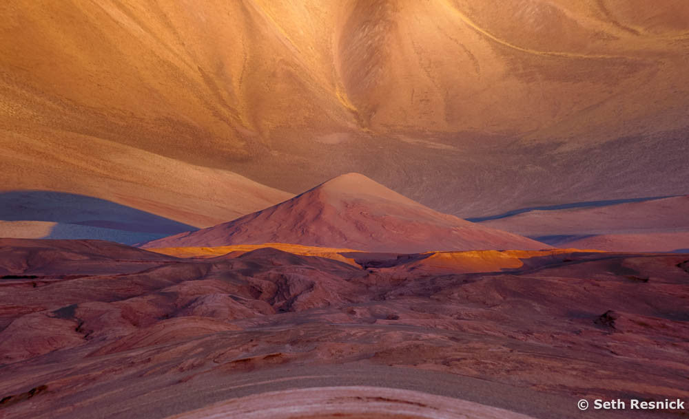 Desert Metamorphosis The Red Labyrinth Atacama Desert Argentina