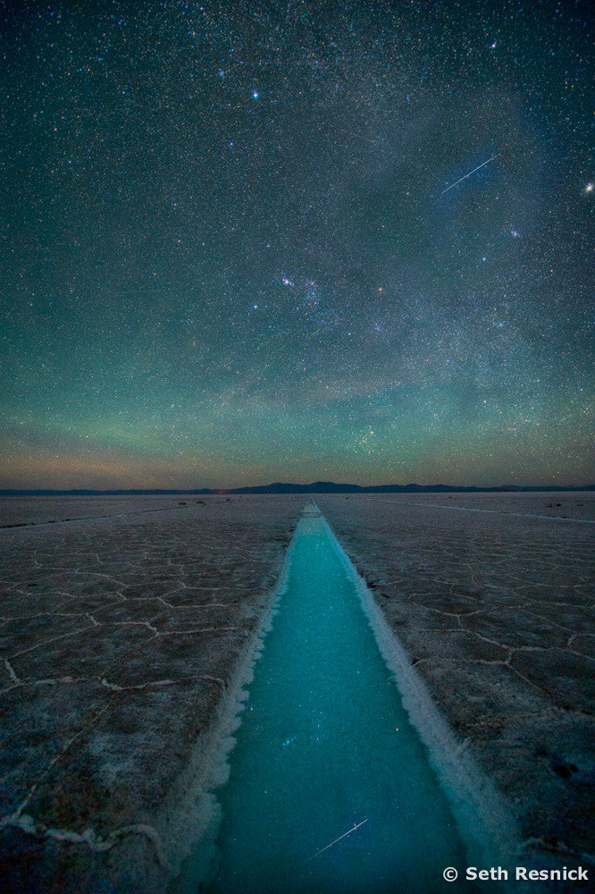 Path to the Universe, Salinas Grande, Argentina