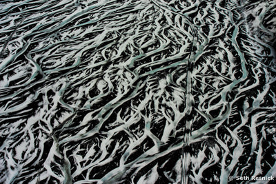 Glacial Runoff Patterns, Iceland