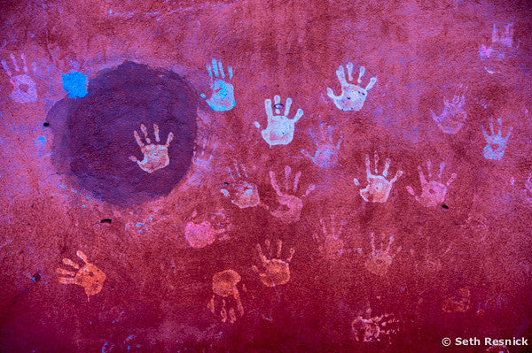 Handprint on Wall, Morocco