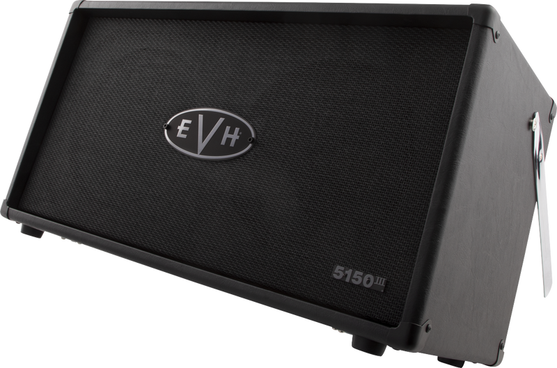 EVH 5150III 50S 2x12 Cabinet - Stealth Black - Safe Haven Music Guitars