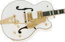 Gretsch G6136T-MGC Michael Guy Chislett Signature Falcon with Bigsby - Vintage White Pre-Order