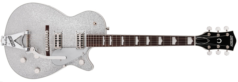 Gretsch G6129T-89VS Vintage Select '89 Sparkle Jet with Bigsby - Silver Sparkle