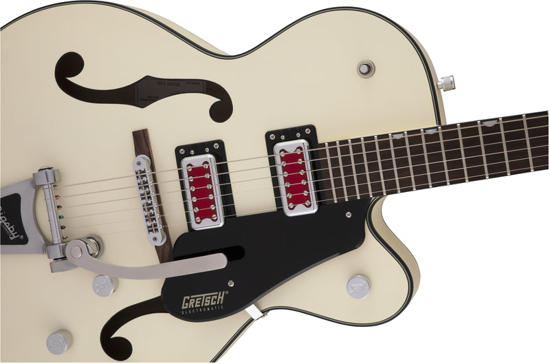 Gretsch G5410T Electromatic Rat Rod Hollowbody Singlecut - Matte Vintage White