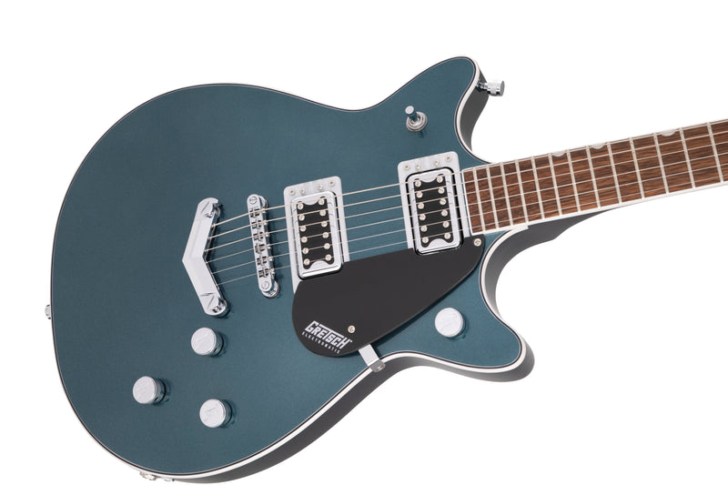 Gretsch G5222 Electromatic Double Jet BT with V-Stoptail - Jade Grey Metallic
