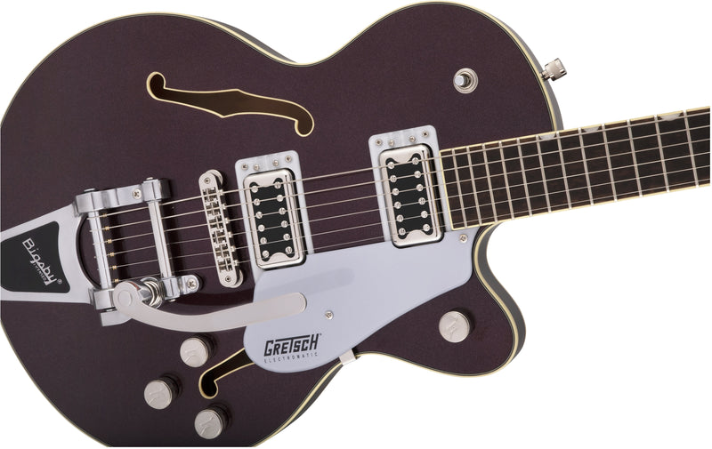 Gretsch G5655T Electromatic Center Block Jr. Single-Cut with Bigsby - Dark Cherry Metallic