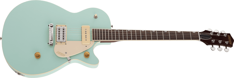 Gretsch G2215-P90 Streamliner Junior Jet Club - Mint Metallic