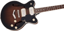 Gretsch G2655-P90 Streamliner Center Block Jr. Double-Cut P90 with V-Stoptail - Brownstone