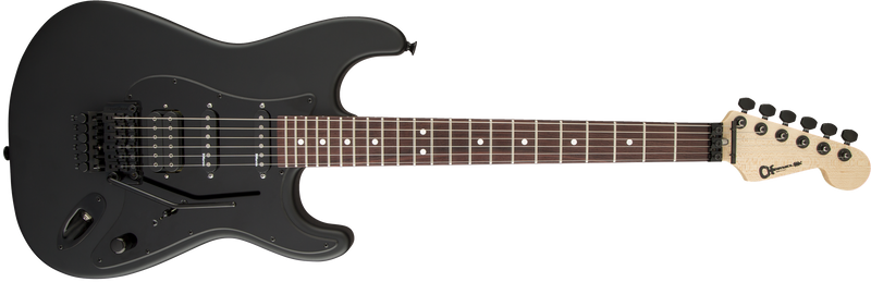 Charvel USA Select So-Cal HSS FR - Pitch Black