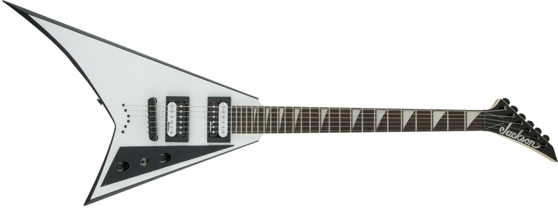Jackson JS Series Rhoads JS32T - White with Black Bevels