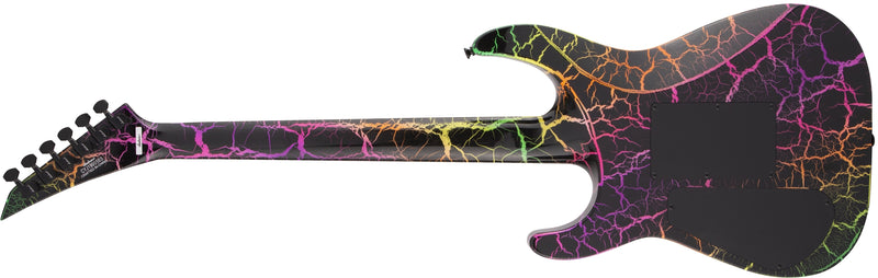 Jackson Pro Series Soloist SL3M - Rainbow Crackle