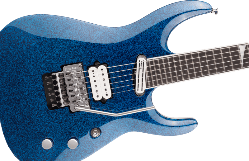 Jackson Limited Edition Wildcard Series Soloist Arch Top Extreme SL27 EX - Blue Sparkle