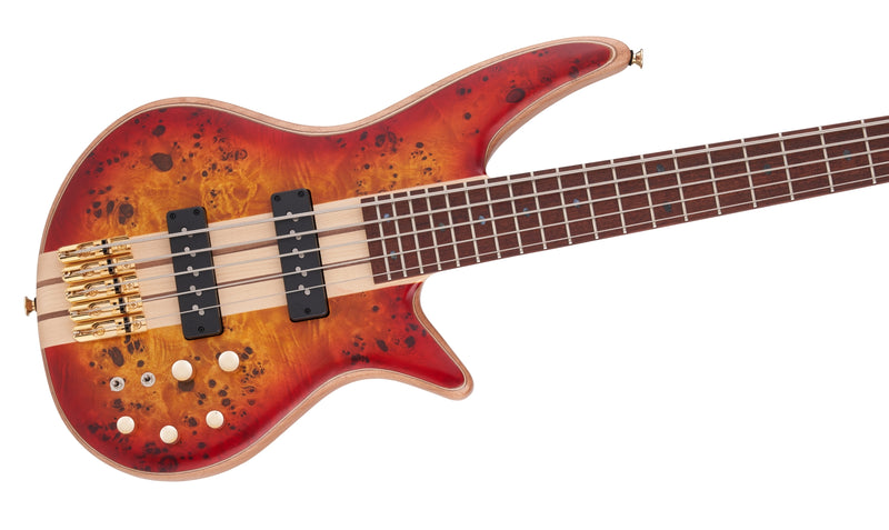 Jackson Pro Series Spectra V Bass - Cherry Burst