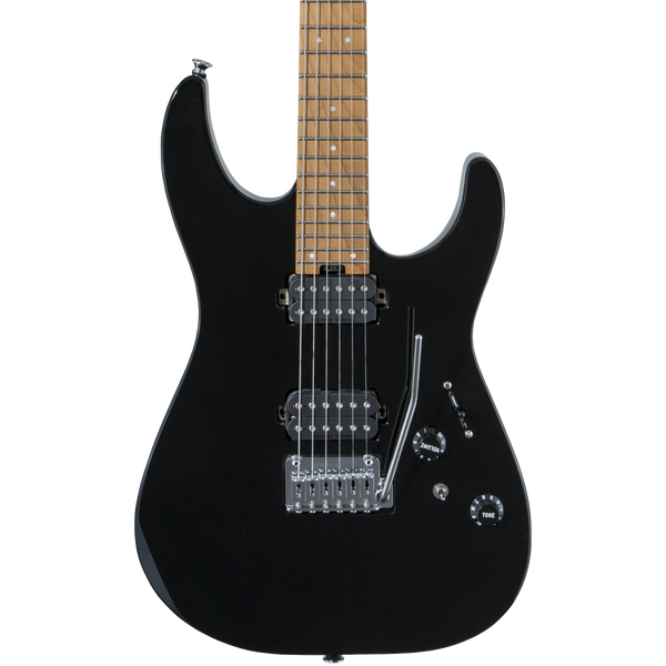 Charvel Pro-Mod DK24 Gloss Black - Safe Haven Music Guitars