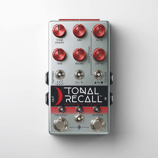 Chase Bliss Audio Tonal Recall RKM - Red Knob Mod