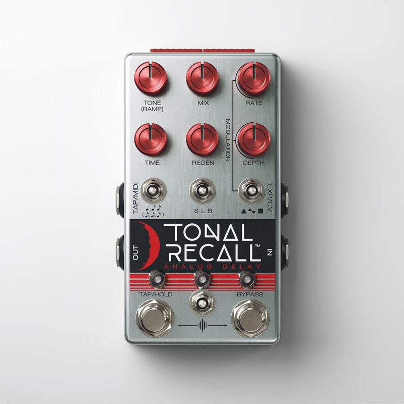 Chase Bliss Audio Tonal Recall RKM - Red Knob Mod - Safe Haven Music Guitars