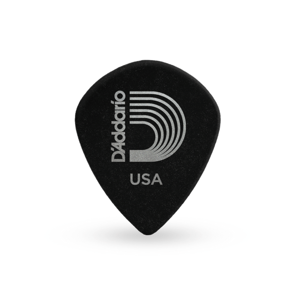 D'Addario Black Ice Guitar Picks, 10 pack, Medium