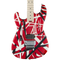 EVH Striped Series Left-Handed R/B/W - Red, Black, and White - Safe Haven Music Guitars
