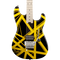 EVH Striped Series Electric Guitar Black/Yellow - Safe Haven Music Guitars