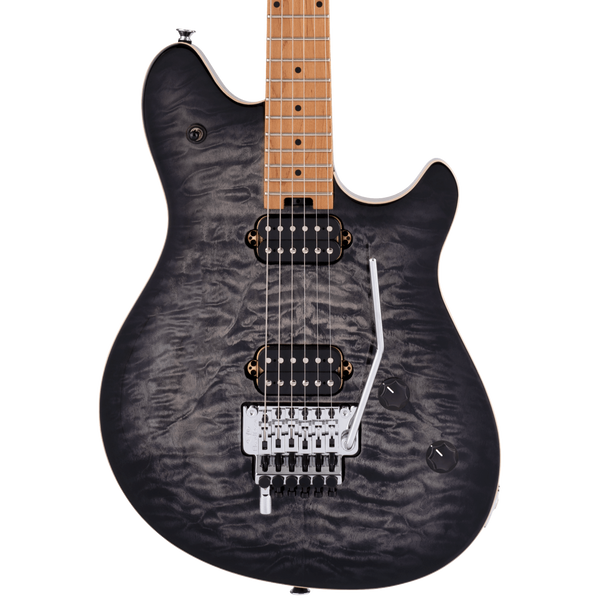 EVH Wolfgang Special QM - Charcoal Burst