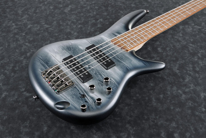 Ibanez SR305E - Electric Bass - 5 String - Black Planet Matte