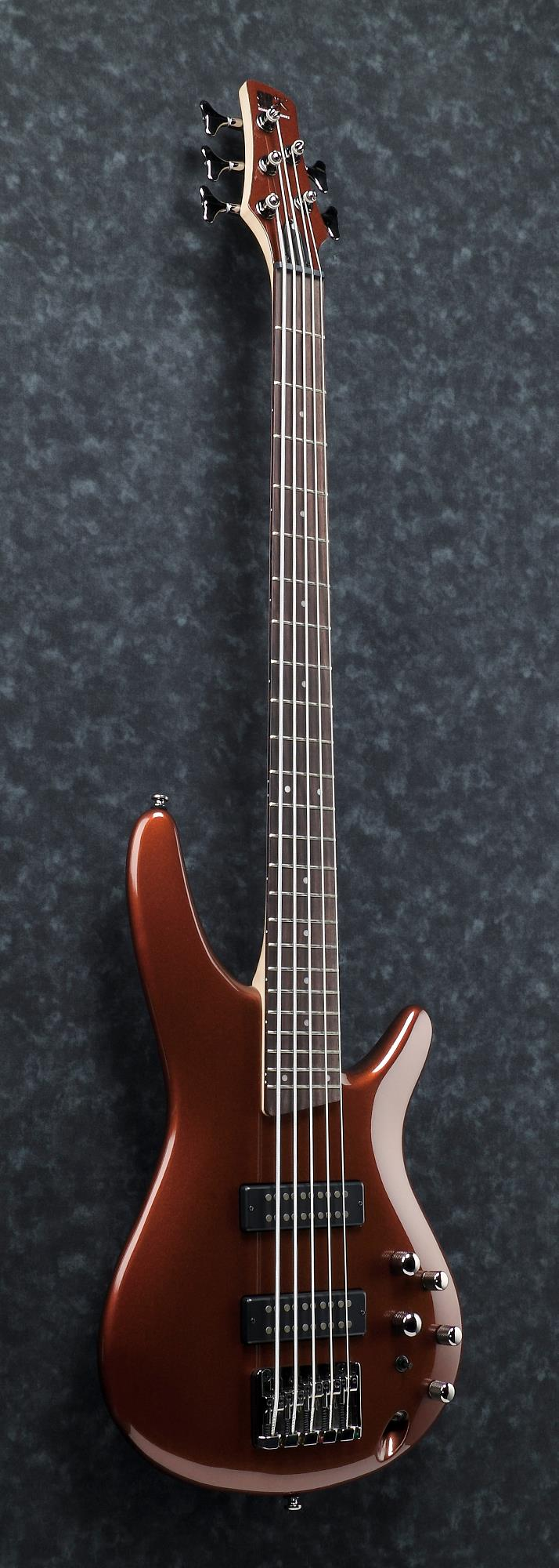Ibanez SR305E - Electric Bass - 5 String - Root Beer Metallic