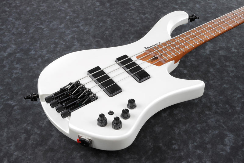Ibanez EHB1000 Ergonomic Headless Bass - 4 String - Pearl White Matte
