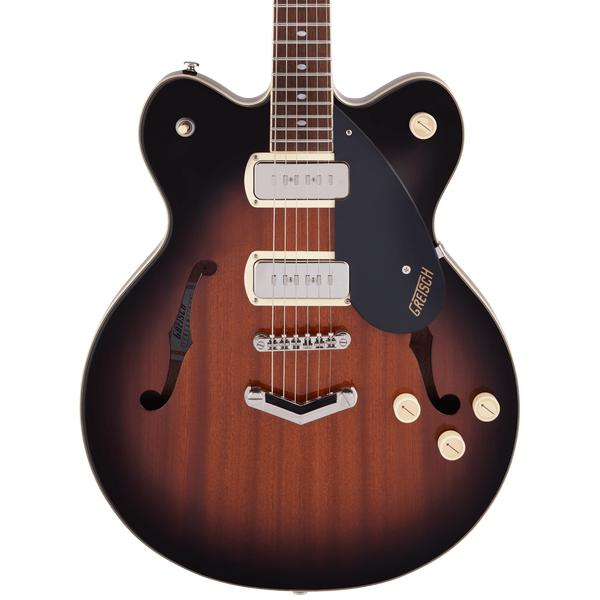 Gretsch G2622-P90 Streamliner Center Block Double-Cut P90 with V-Stoptail - Havana Burst