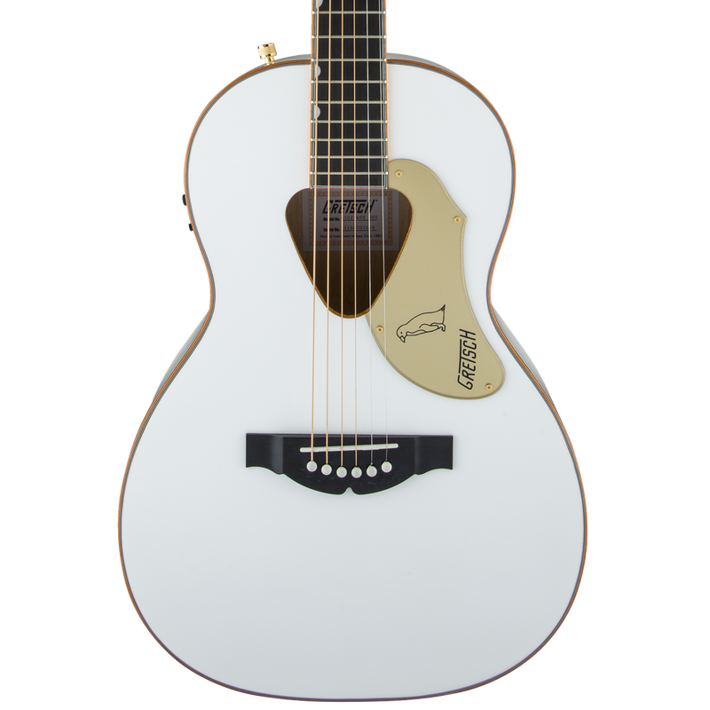 Gretsch G5021WPE Rancher Penguin Parlor Acoustic/Electric Guitar w/ Fishman Pickup System White