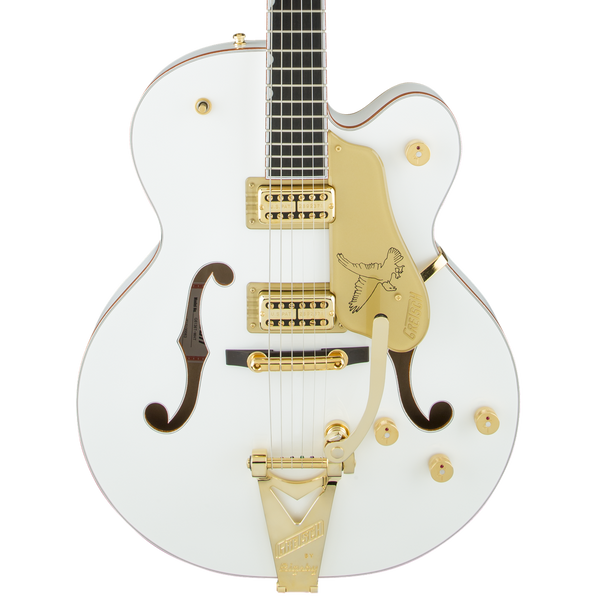 Gretsch G6136T Players Edition White Falcon with Bigsby - Safe Haven Music Guitars