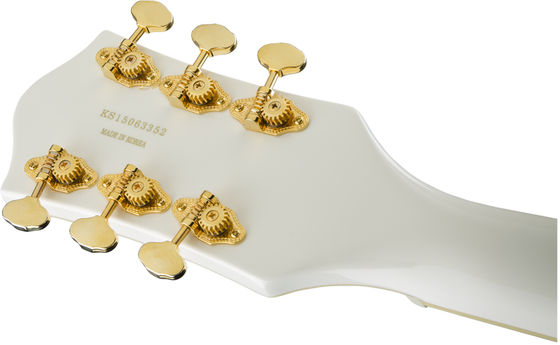 Gretsch G5422TG Electromatic Hollowbody Double-Cut with Bigsby - Snowcrest White